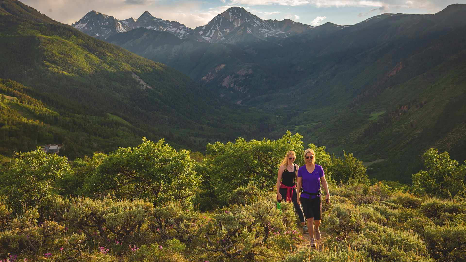 Hiking - Wildflowers abound on the meandering hiking trails located all throughout Snowmass Village, with all trails leading right back home.
