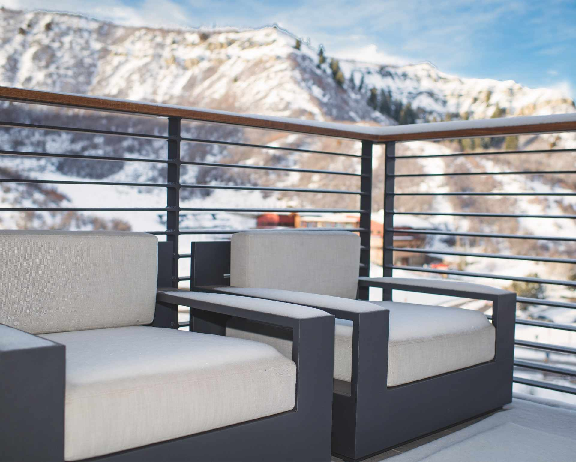 Featured Balconies - Some residences feature additional outdoor living space perfect for al fresco dining, relaxing, and soaking in the mountain views.