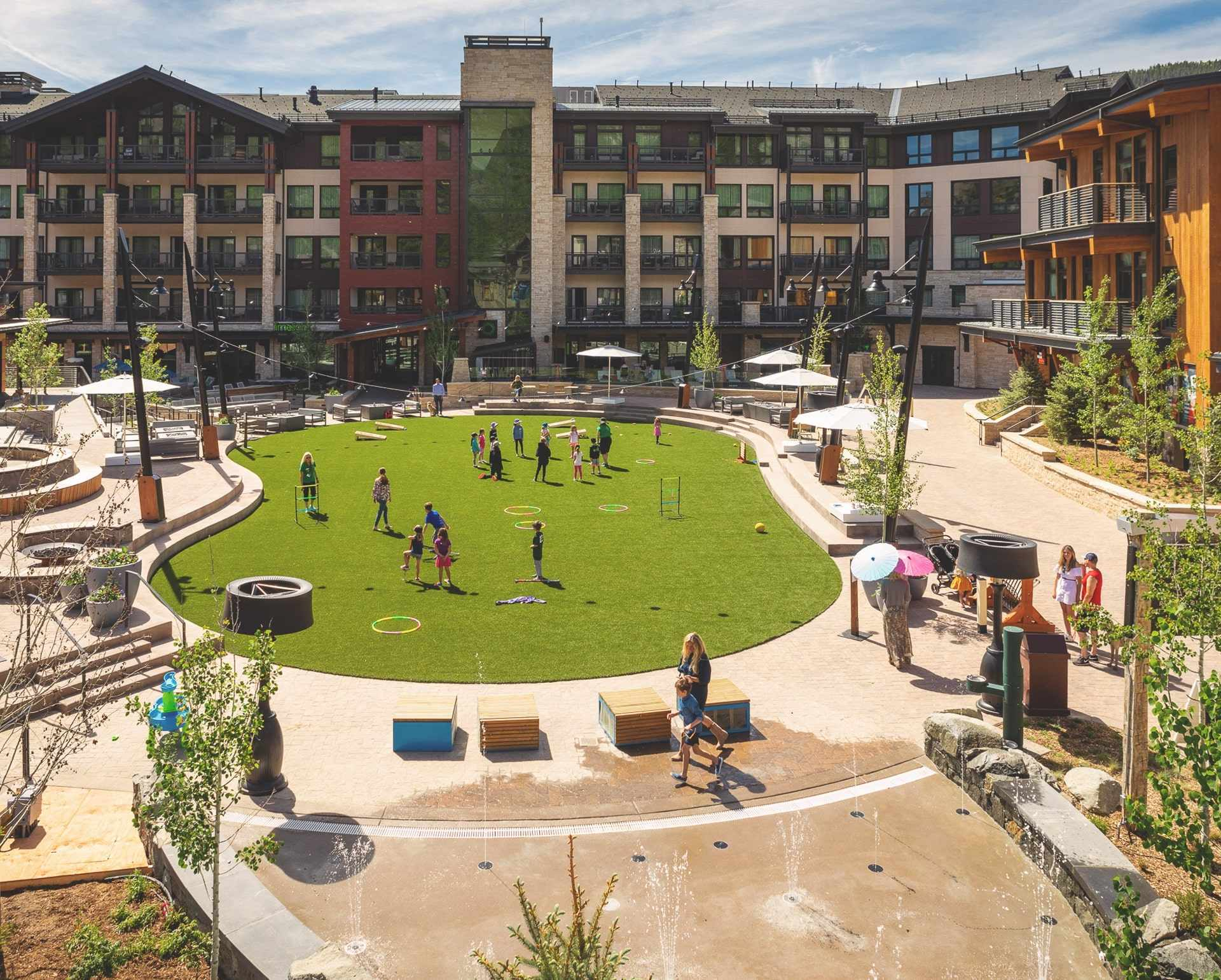 LEED GOLD. - Targeting LEED Gold certification to join an existing collection of LEED certified buildings throughout Snowmass Base Village, which, as a whole, is a LEED certified neighborhood.